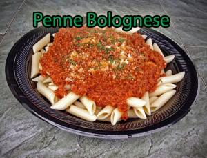 Penne BologneseHO